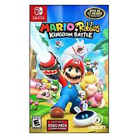 Đĩa Game Nintendo Switch Mario + Rabbids Kingdom Battle - Hàng Chính Hãng