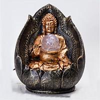 Thác Nước Phong Thủy Phật Ngự Liên Hoa