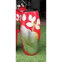 Bình hoa, lọ hoa khảm trứng bạc gốm Bát Tràng