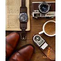 (MUA 1 ĐƯỢC 5)Dây đồng hồ da bò thật cho Seiko 5 / Casio AE 1200 WHD / Casio AE 1200 WH / Casio 1200WHD / 1000W / 1000WD