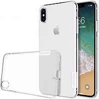 Ốp lưng dẻo iPhone XS Max Nillkin (trong suốt) -...