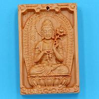 Mặt Phật bản mệnh gỗ ngọc am Đại Thế Chí MGPBM4 - Hộ mệnh người tuổi Ngọ - Sản phẩm phong thùy phù hợp cho nam