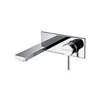 Vòi chậu lavabo âm tường Bravat P69179C-ENG