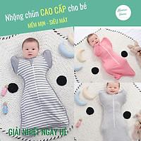Nhộng chũn cho bé/Túi ngủ trẻ em cao cấp Moonie (Mở tay) Giúp bé ngủ ngon, giảm giật mình