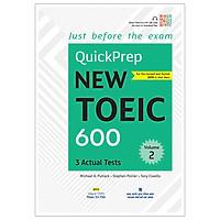 Quickprep New Toeic 600 Volume 2 (Kèm file MP3)