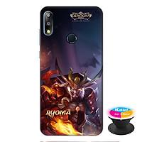 Ốp lưng điện thoại Asus Zenfone Max Pro M2 hình RYOMA tặng kèm giá đỡ điện thoại iCase xinh xắn - Hàng chính hãng
