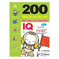 200 Miếng Bóc Dán TM PT Chỉ Số Tm IQ T1 - Dành Cho Trẻ 2-10 Tuổi (Tái Bản 2018)