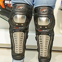 Giáp chân tay Inox Probike