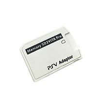 Bộ Chuyển Đổi V5.0 SD2VITA PSVSD Pro Cho Thẻ Nhớ PS Vita Henkaku 3.60 Micro SD Trắng