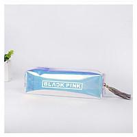 Túi bút hologram BlackPink trong suốt lấp lánh