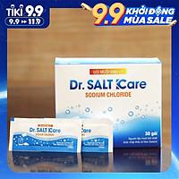 Hộp muối rửa xoang mũi nhập khẩu New Zealand cho bé và người lớn Dr Salt Kare| hỗ trợ điều trị viêm mũi, sổ mũi, viêm mũi dị ứng, viêm xoang (30 gói)