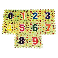 Bộ 10 chữ số thảm xốp lót sàn an toàn Thoại Tân Thành (30x30cm) (loại mới)