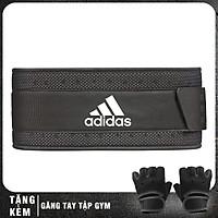 Đai lưng tập Gym chuyên nghiệp Adidas ADGB-1228 (Tặng găng tay tập gym)