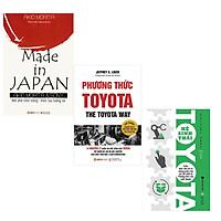 Combo Sách Bài Học Kinh Doanh Hay : Made In Japan + Phương Thức Toyota + Hệ Sinh Thái Toyota