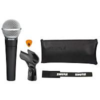 Mic Cầm Tay Shure SM58-LC Hàng Chính Hãng USA Micro Phòng Thu Studio Microphone Karaoke - Kèm Móng Gẩy DreamMaker