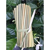 100 ống hút cỏ bàng khô