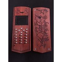 Vỏ gỗ cho điện thoại Nokia 1280 mẫu Mã đáo thành công