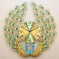 Đồng hồ treo tường chim công cỡ lớn DNS111 (KT 68x68cm)