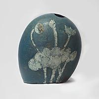 Bình hoa gốm sơn mài, Lộc bình gốm sứ Bát Tràng, Gốm tâm linh của người Việt, dòng gốm độc, lạ, hiện đại