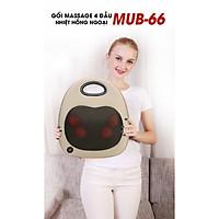 Gối massage trị liệu hồng ngoại Boss Nhật Bản MUB-66 (Hàng chính hãng)