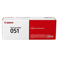 Mực in Canon Cartridge 051 Black dùng cho Canon LBP 160 Series, LBP 161dn, LBP 162dw, MF269DW, MF261D, MF267DW, MF264DW- Hàng Chính Hãng