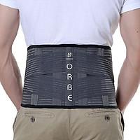 Đai thắt lưng hỗ trợ cột sống ORBE OLUMBA cho người đau lưng, thoát vị đĩa đệm thoái hóa đốt sống - Hàng chất lượng cao
