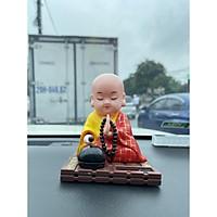 Đồ chơi trang trí xe hơi Phật Tiểu Đồng