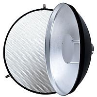 Tản sáng Beauty Dish + tổ ong cho đèn Flash AD180 AD360 II Godox AD-S3 - Hàng nhập khẩu