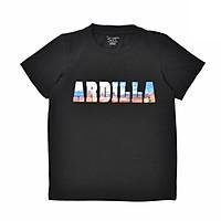 Áo Phông Bé Trai In Chữ 3D Ardilla 01BS18 - Đen