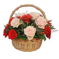 Giỏ hoa tươi - Nồng Cháy 4188