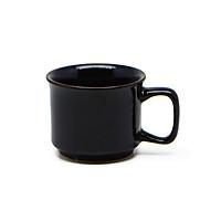 Cốc cà phê đại   Đông Gia -  màu men  hỏa biến tự nhiên đen bóng 47