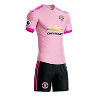 Bộ quần áo bóng đá câu lạc bộ Manchester United - Áo bóng đá CLB ngoại hạng Anh - Bộ đồ bóng đá đẹp - MU - Hồng - XXL