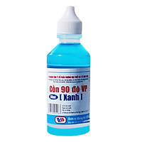 Cồn 90 Độ VP (Xanh) (60ml / Lốc 10 Chai)