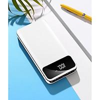 Sạc dự phòng 20000mAh BA809 gấp đôi hiệu năng với 2 cống sạc USB có màn hình LCD hiển thị phần trăm pin - Hàng Nhập Khẩu