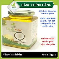 Dầu dừa ghee Viet healthy 500ml, giàu vitamin A,D,K2,E, giúp thải độc, giàu chất xơ, bảo vệ tim mạch, tăng miễn dịch