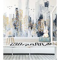 Tranh dán tường canvas trừu tượng ADHW028