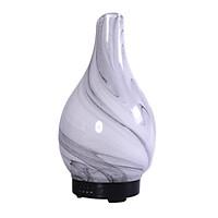 Máy Khuếch Tán tinh dầu hình lọ hoa 3D Vát  hình xoắn xám