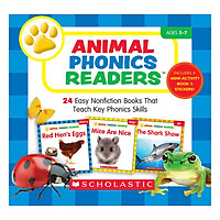 Animal Phonics Readers With Cd (Student Pack)
