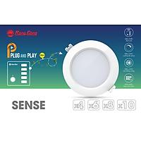 [Combo Smart Local 6] Combo chiếu sáng thông minh gồm 6 đèn Downlight AT16.RM 90/7W (hoặc AT16.RM 110/9W) và 1 bảng điều khiển không dây