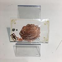 Bookmark kim loại mặt dây chuyền sáng tạo - Hoa hồng hồng