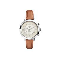 Đồng hồ thông minh nữ Fossil Hybrid Smartwatch Jacqueline  dây da FTW5012 - màu nâu - Hàng chính hãng