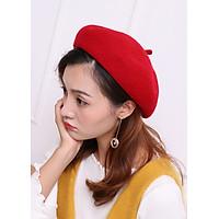 Mũ nồi nữ len dạ dày dặn - Hàng loại 1 - Có dây chỉnh cỡ