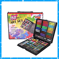 Bộ bút màu vẽ 150 món cho bé - Tặng 2 bút bi nước hình dễ thương  - Hàng Chất Lượng