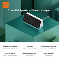Sạc nhanh kèm loa bluetooth không dây 30W MAX BT5.0 có micrô cuộc gọi HD cho iPhone Samsung Xiaomi BT Speaker Fast Wireless Charger