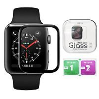 Kính Cường Lực 3D Bảo Vệ Màn Hình Đồng Hồ Apple Watch (Full Box) 38mm 42mm 40mm 44mm Series 6 SE 5 4 3 2 1 - DT060