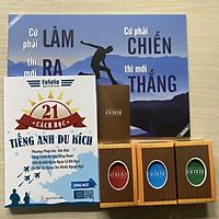 Combo Sách 21 Cách Học Tiếng Anh Du Kích Kèm Bộ 3 Hòm Kho Báu 156 Flashcard Câu Nói Hay Và Quà Tặng Độc Đáo Từ Fususu (Mới)
