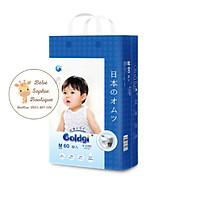 Combo 2 túi Bỉm quần GOLDGI+ Size M 60 miếng (cho trẻ từ 6-11kg)