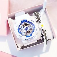 Đồng hồ điện tử thời trang nam nữ chạy full kim điện tử cực hot fccs4v