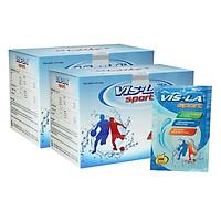 Combo 2 Hộp Thực Phẩm Chức Năng Bổ Sung Nước, Điện Giải, Vitamin Vis-La Sport V008B (10 Gói / Hộp)