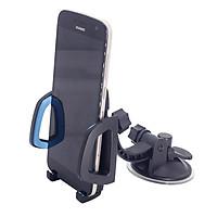 Giá đỡ điện thoại Xoay 360 độ, Thiết kế nhỏ gọn trên ô tô, xe hơi YQ-XP053, được thiết kế hút chân không cực kỳ chắc chắn, hỗ trợ các thiết bị có độ rộng màn hình từ 4-7 inch